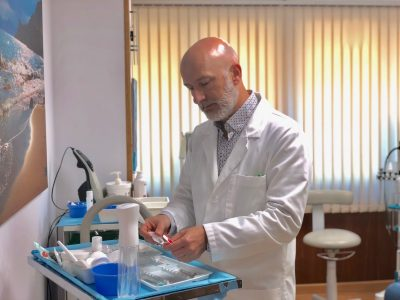 Preparación de la toxina botulínica o botox
