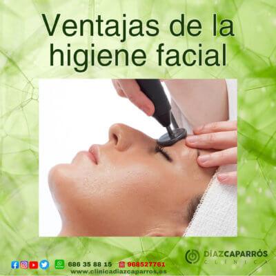 Higiene facial indiba