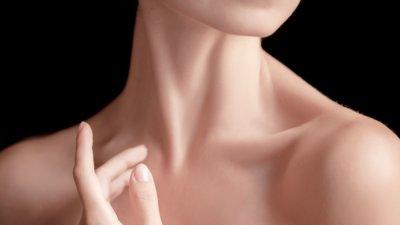cuello femenino