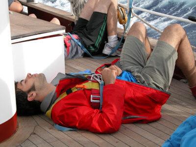 vertigo en barco